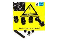OptiVent versteckte Ventile 11,3mm schwarz Adapter und Anhänger