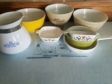 Vintage Lot Pyrex Corning Federal Fire King Corelle And Others Surprise lot Box