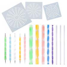 US 16 IN 1 Mandala Dotting Tools Painting Kit Dot Art Rock Pen Paint Stencil Xia