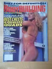 FEMALE BODYBUILDING muscle magazine #37/DENISE RUTKOWSKI 1-94