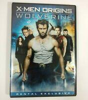 X-Men Origins: Wolverine DVD 2009 Widescreen Hugh Jackman Liev Schreiber