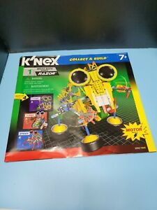 2009 Knex Moto-bot Series 1 Razor INSTRUCTION / BUILD MANUAL ONLY!!!!