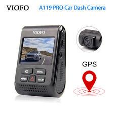 "VIOFO A119PRO HD GPS Car Dash Camera DVR Capacitor 2.0"" Screen HD 1440P G-sensor"