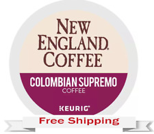 Keurig New England Colombian Supremo Coffee K-cups 48 Count
