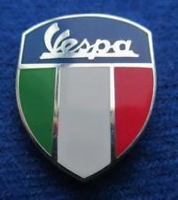 Vespa Italian Shield Enamel Pin Badge