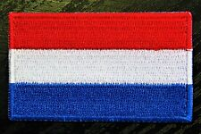 NETHERLANDS HOLLAND Dutch Country Flag Embroidered PATCH Badge *NEW*