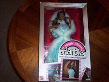 1986 Magic Moves Barbie doll NRFP Black Superstar Era 80's 2127 African American