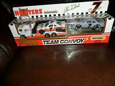 Alan Kulwicki Hooters 1993 1/87 Matchbox Superstar Team Convoy Car & Van Nr Mint