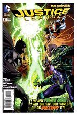 JUSTICE LEAGUE #31(8/14)1st FULL JESSICA CRUZ(*GREEN LANTERN)(BATMAN)(CGC IT)9.6