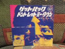 The BEATLES – Get Back / Don't Let Me Down - APPLE  AR-2279 - JAPAN 45rpm w/ pic