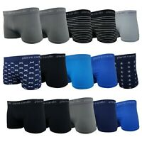Pierre Cardin 5 Pack Trunks Multipack Black Navy Charcoal M L XL XXL