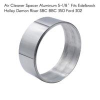 "2""Aluminum Air Cleaner Spacer for Edelbrock Holley Demon Riser SBC 350 Ford K3K9"