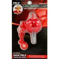 DAVE PELZ O-Ball Golf Marking Clamp Putting Alignment Training Aid w/Sharpie-new
