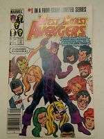 000 Vintage Marvel Comic book West Coast Avengers Vol 1 #1 1984 Nice 1 in 4