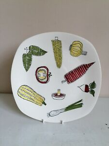 "Retro Midwinter Stylecraft ""Salad Ware"" 10"" Dinner Plate"