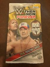 2016 Topps WWE Then Now Forever Factory Sealed Pack - 7 Cards