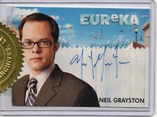 Eureka 3 Case Dealer Incentive Topper Card - Neil Grayston Autograph