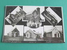 Church Buildings Mount Gambier South Australia RPPC Postcard