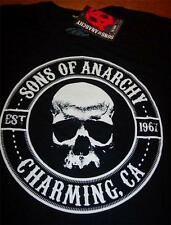 SONS OF ANARCHY SKULL Charming CA T-Shirt SMALL NEW w/ TAG Motorcycles
