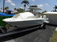 The Element PREFAB Bow Dodger center console boat shade cover  canopy White MED