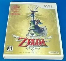 Zelda Skyward Sword Nintendo Wii Japanese Japan Legend F/S