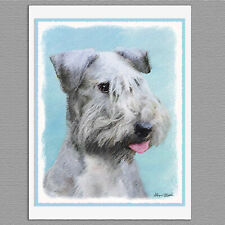 6 Cesky Terrier Dog Blank Art Note Greeting Cards