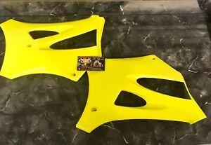 Cobra Fluorescent Yellow Radiator Shrouds CX65 CX50 King Sr 50cc 65cc 50 65 CX