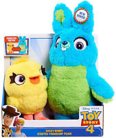 Disney Pixar Toy Story 4 Ducky And Bunny Scented Friendship 11 Plush Kid Gift