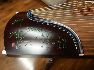 "53"" 21-String Guzheng, Chinese Zither Harp Instrument, Koto"