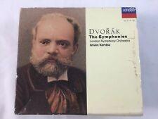 Dvorak: The Symphonies [Box Set] (CD, Nov-1991, 6 Discs, London) W/ Booklet