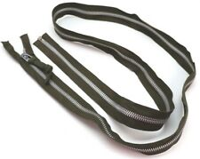 Us heavy duty aluminium zipper on Od fabric 1 3/4in w x 72 in long each E1349