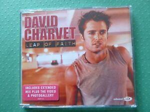 David Charvet 'Leap of Faith' 3-track enhanced CD (2002)