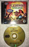 Alien Front Online (Sega Dreamcast, 2001) Complete in Jewel Case!