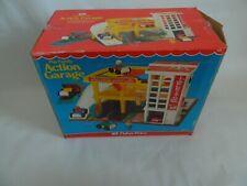 Vintage 1977 Fisher Price Action Garage 930 Complete wOrginal Box
