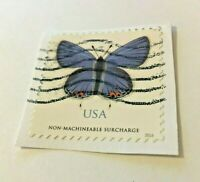United States, Used Stamp, Eastern Tailed-Blue, 5136, Non-Machineable Surcharge