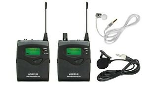 1 x Sennheiser/Pure Compatible G2 - G4 UHF TX And RX + case 606-613mhz CH38 50mw