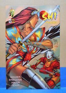 SHI - THE SERIES #13 of 13 1997/98 Crusade Comics 9.0 VF/NM Uncertified