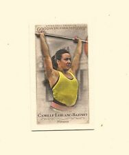 CAMILLE LEBLANC-BAZINET 2016 UPPER DECK GOODWIN CHAMPIONS CANVAS MINI CARD