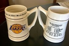 NBA-Champions-1987-88-LOS-ANGELES-LAKERS-5-5-034-Ceramic-Mug-Excellent-Condition