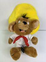 "Vintage 1995 WB Warner Bros Studio Store ""Speedy Gonzales"" Stuffed Plush 9"""