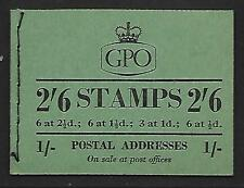F16 2/6 GPO booklet - April 1954 UNMOUNTED MINT