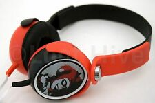 NEW Zenixx HARLEY QUINN by DC Comics Over Ear Wired Headphones Kids Joker Batman