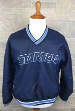 Starter Pullover Windbreaker Jacket Spellout Embroidered Vintage Size M