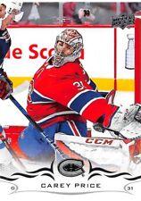 18/19 UPPER DECK BASE #99 CAREY PRICE CANADIENS