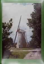 CPA Holland Saasveld Windmill Moulin a Vent Windmühle Molino Mill Wiatrak w86