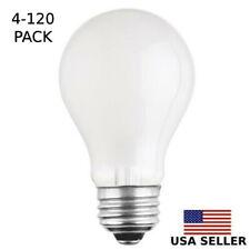 25w Watt A19 Incandescent Light Bulbs, Standard Screw Base - 4, 8, 40, 120 PACK