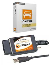 E327 USB OBD 2 Diagnose-Interface Gerät DEUTSCHE SOFTWARE für Peugeot Renault
