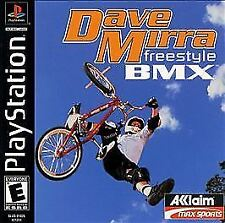 Dave Mirra Freestyle BMX, Good Playstation Video Games