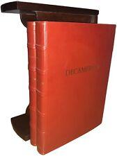 Giovanni Boccaccio DECAMERON illustrato Libro di pregio Edizione lusso 2 volumi
