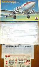 DC 3 Douglas Avión kit construcción SIN Construir NITTO Kagaku 1:100 emb.orig å